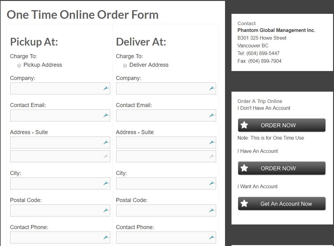 Online Ordering Help